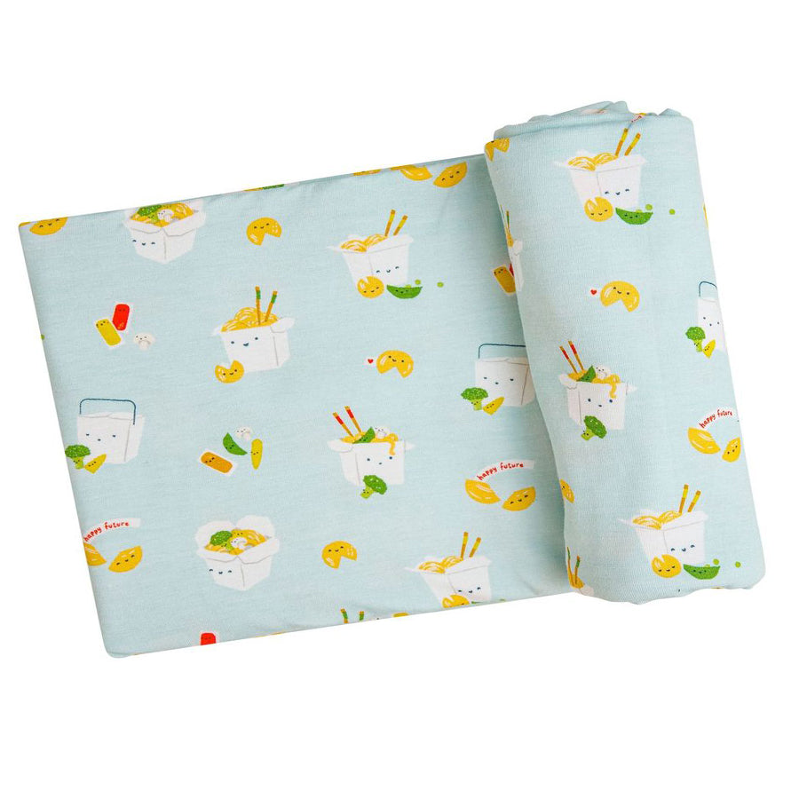 Take Out Swaddle Blanket - Mint