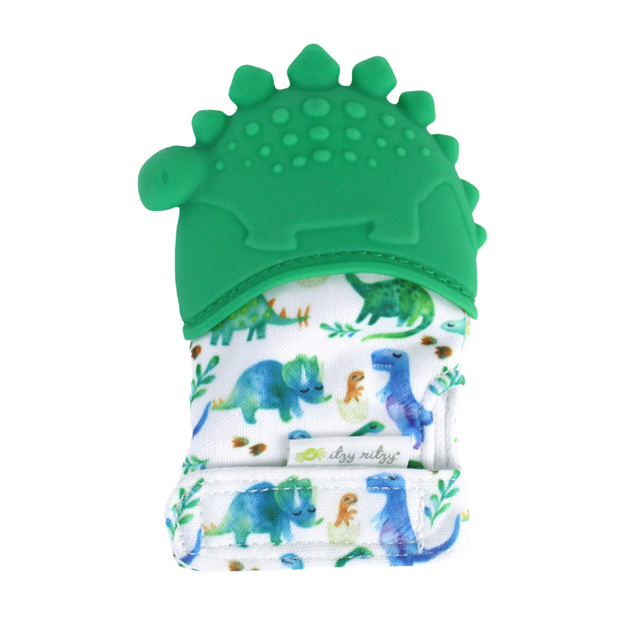 ITZY MITT™ Teething Mitts- Dino