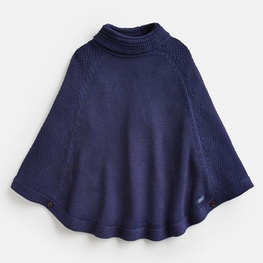 Tess Knitted Poncho - Joules - joannas-cuties