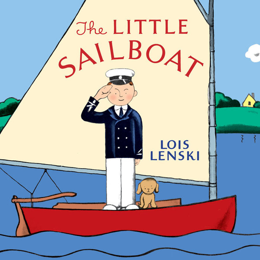 The Little Sailboat - Book-Penquin Random House-Joanna's Cuties