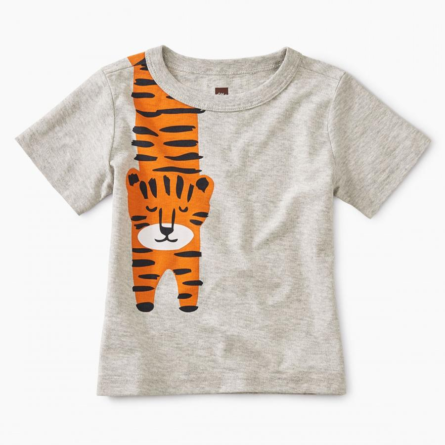 Tiger Turn Baby Graphic Tee - Tea - joannas-cuties