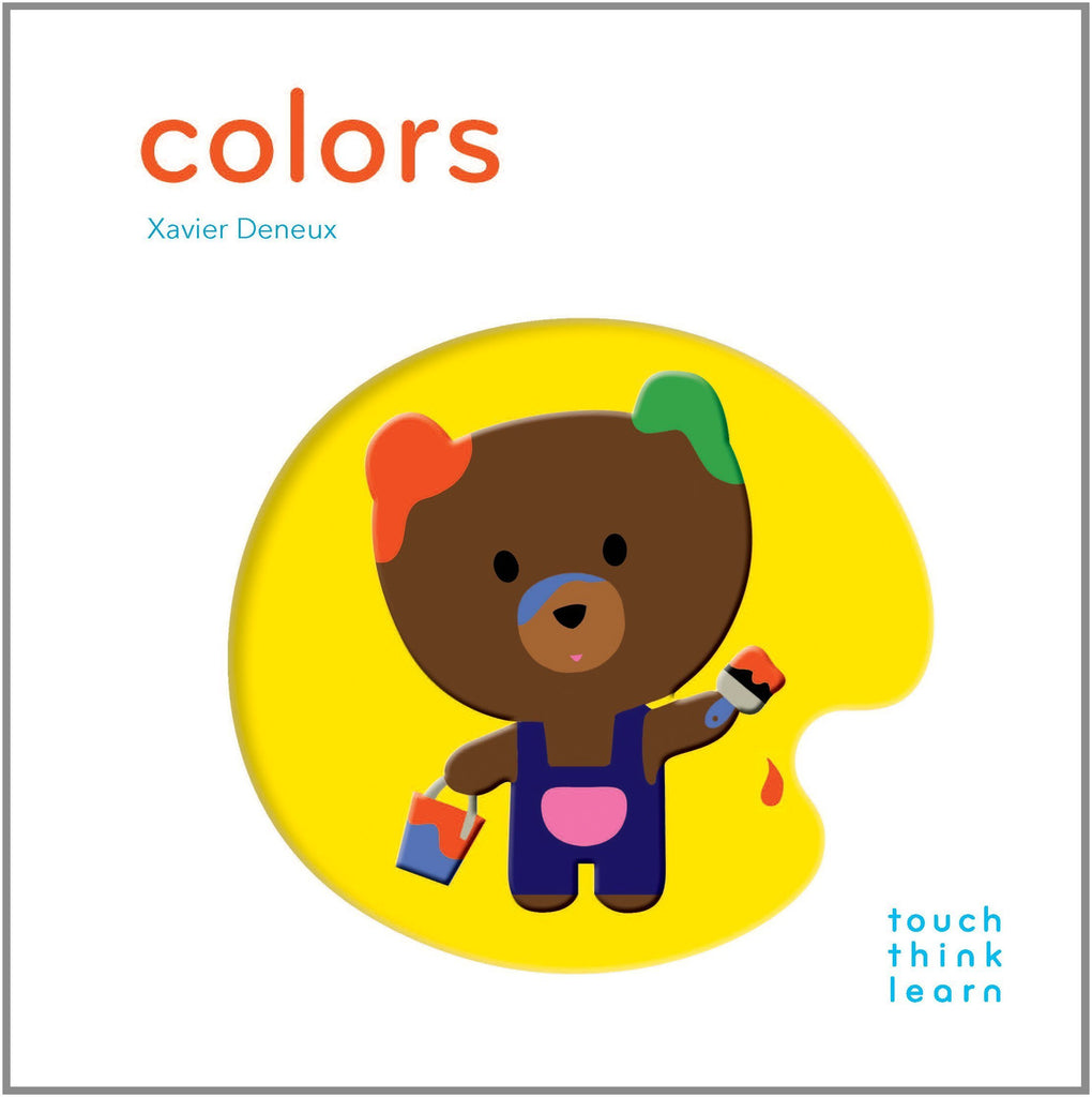 Touch Think Learn: Colors Board Book - Chronicle Books - joannas-cuties