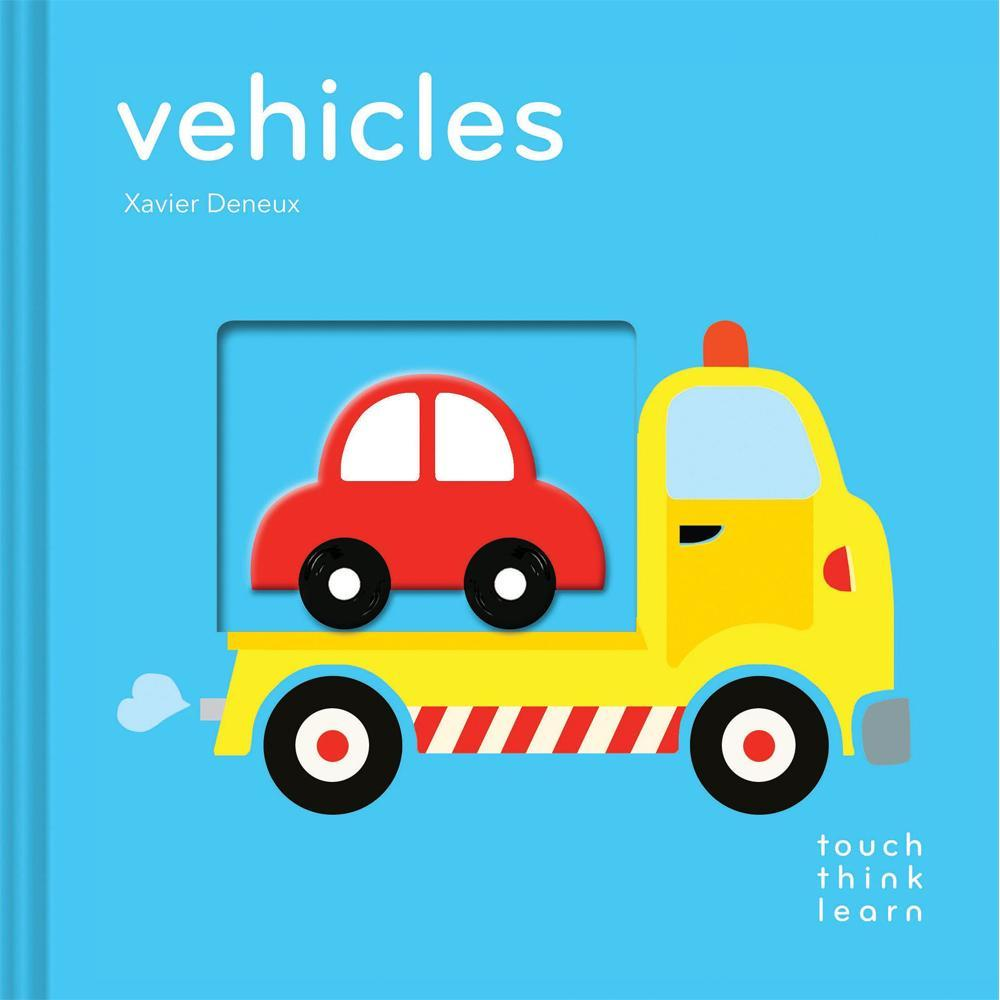Touch Think Learn: Vehicles Board Book - Chronicle Books - joannas-cuties