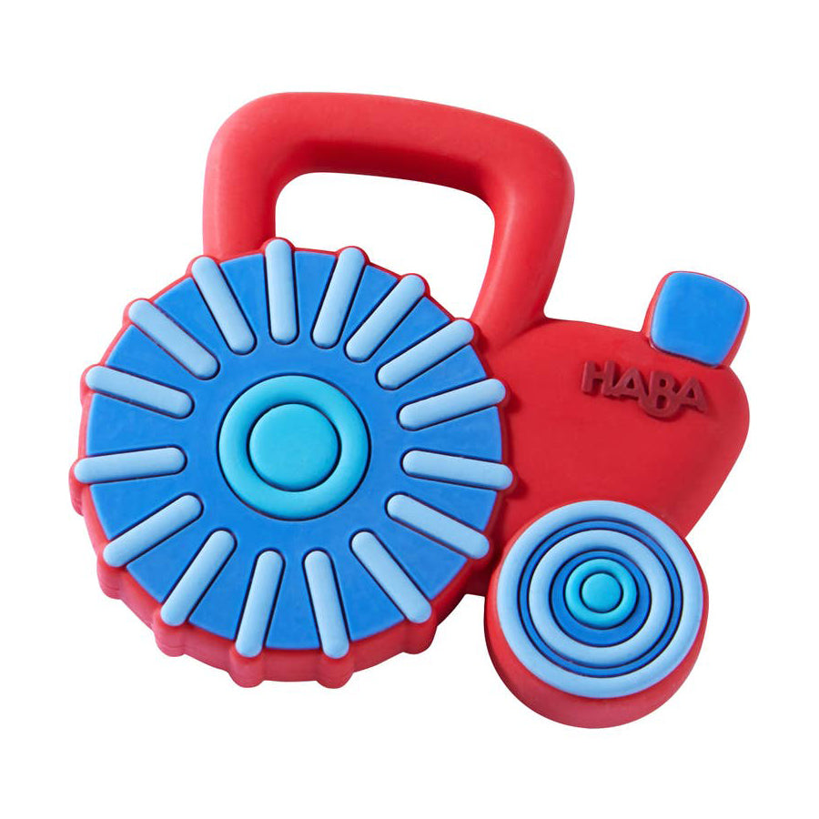 Tractor Silicone Teether-Haba-Joanna's Cuties