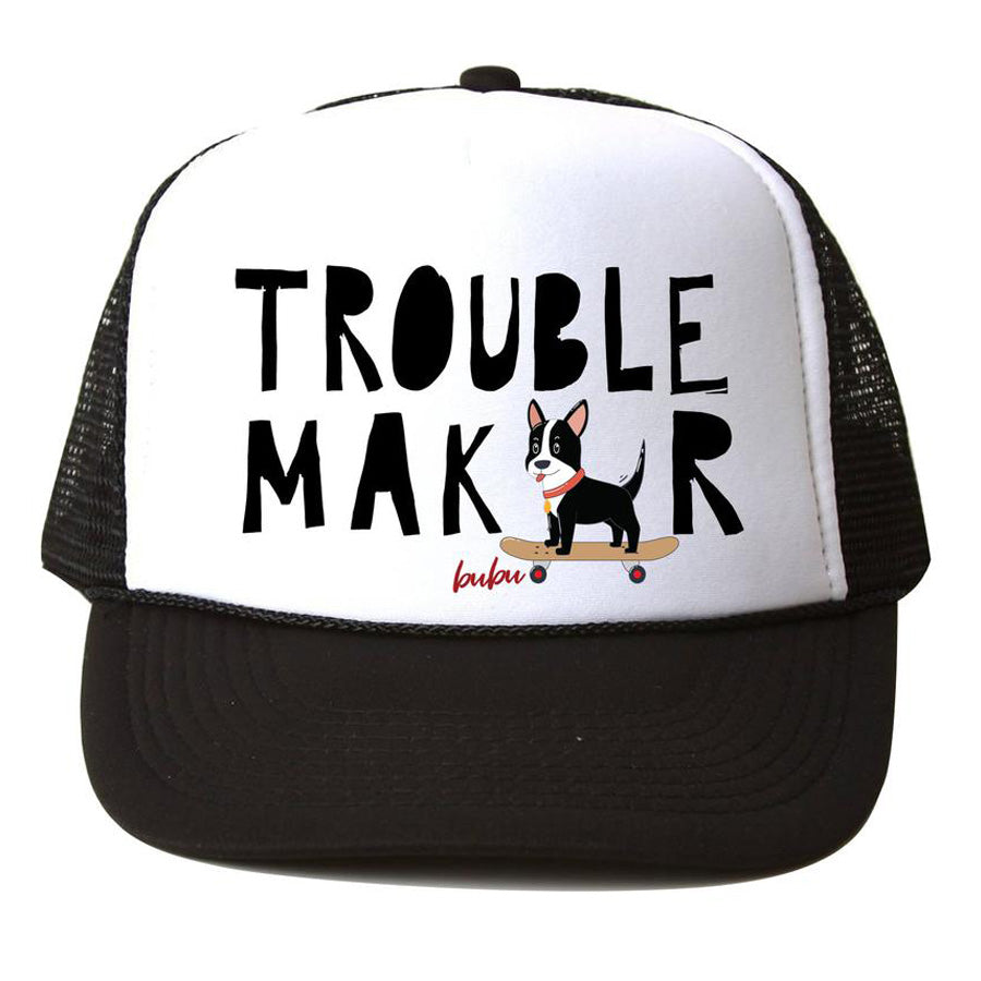 Trouble Maker Hat - Black - Bubu - joannas-cuties