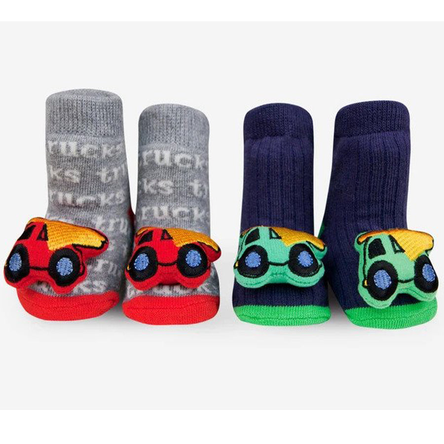 Truck Rattle Socks-Waddle-Joanna's Cuties