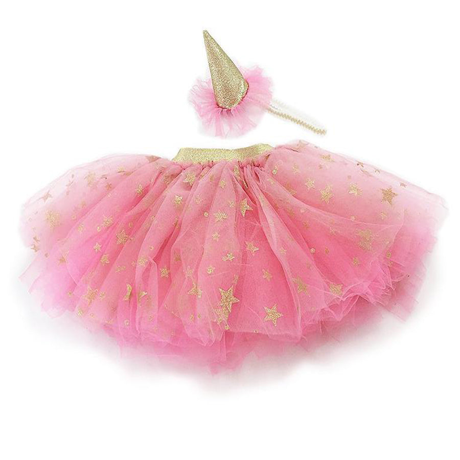 Tutu Skirt And Party Hat Dress Up Set-Mon Ami-Joanna's Cuties