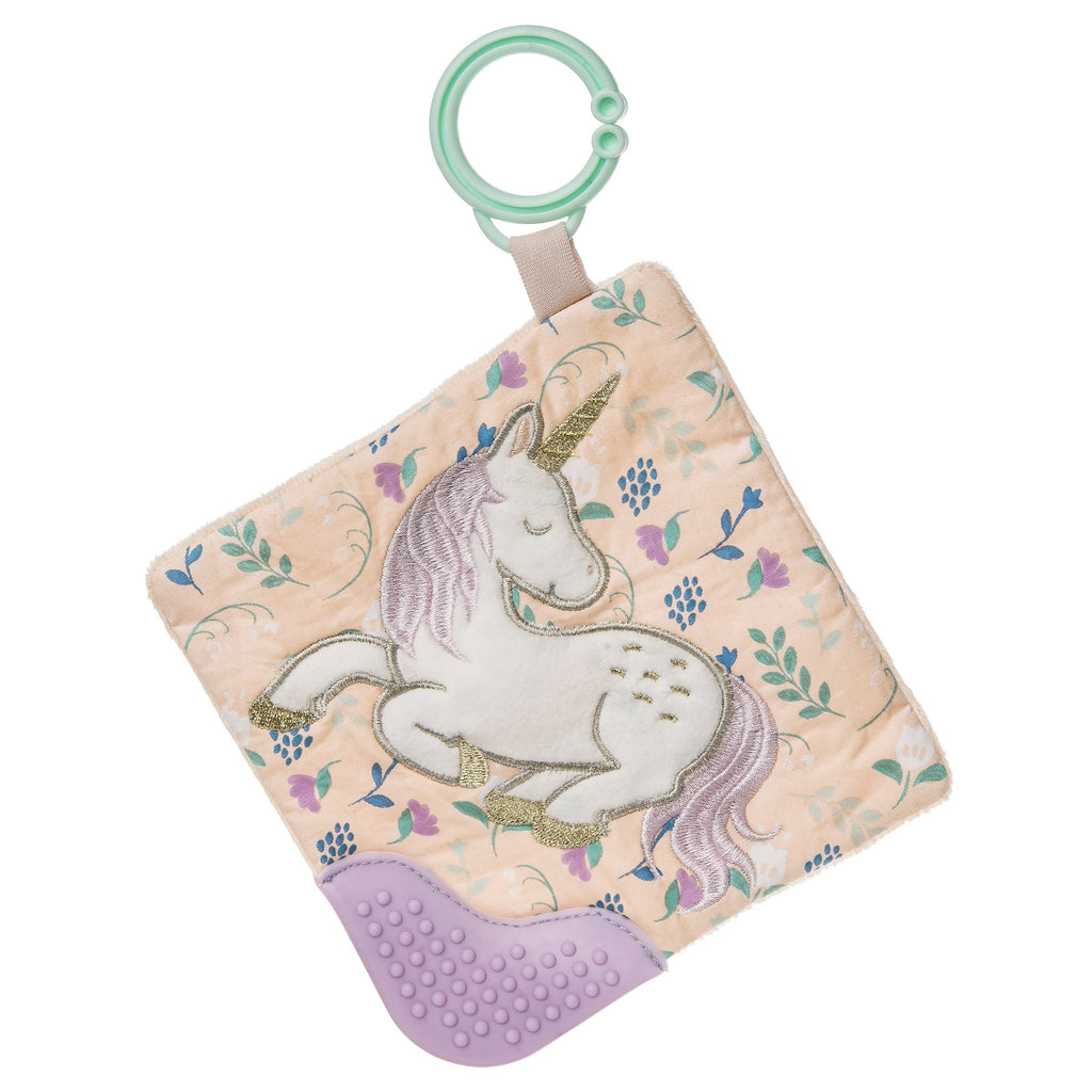 Twilight Baby Unicorn Crinkle Teether – 6×6″ - Mary Meyer - joannas-cuties
