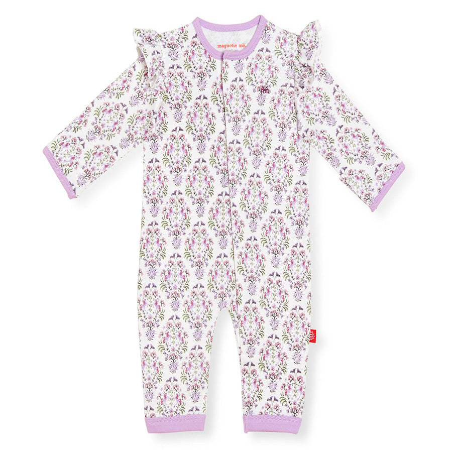 Unicorn Dreams Organic Cotton Magnetic Coverall-Magnetic Me-Joanna's Cuties