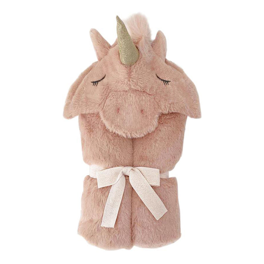 'Uliana' Unicorn Plush Hooded Blanket-Mon Ami-Joanna's Cuties