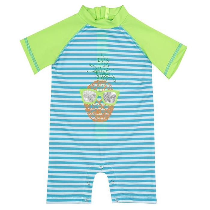 UPF 50 Swim Romper (Recommended by the Skin Cancer Foundation)-Andy & Evan-Joanna's Cuties