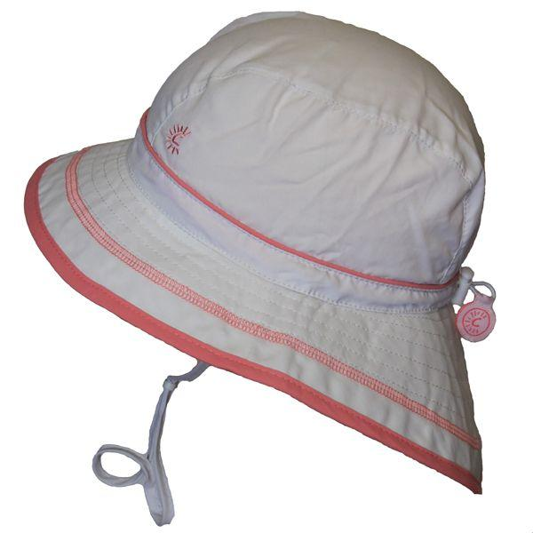 UV Beach Hat - White - Calikids - joannas-cuties