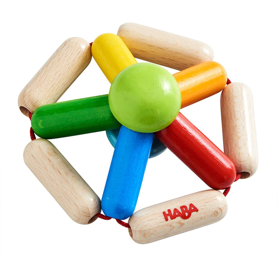 Wooden Clutching Toy Color Carousel-Haba-Joanna's Cuties