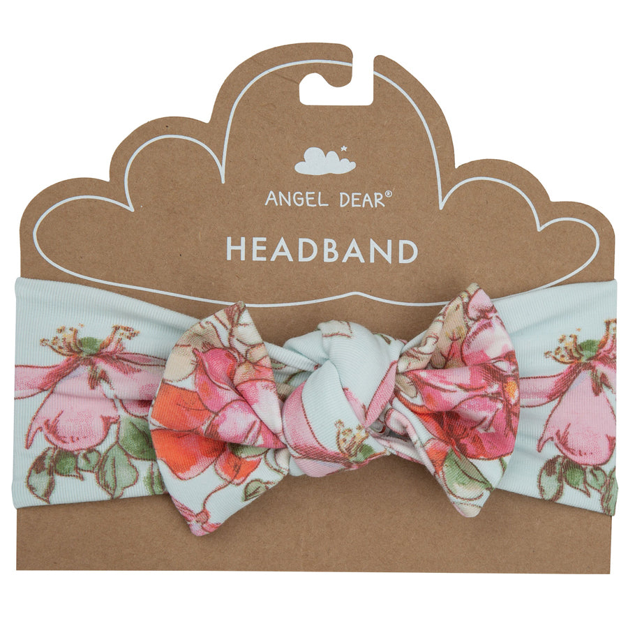 Woodland Rose Headband-Angel Dear-Joanna's Cuties