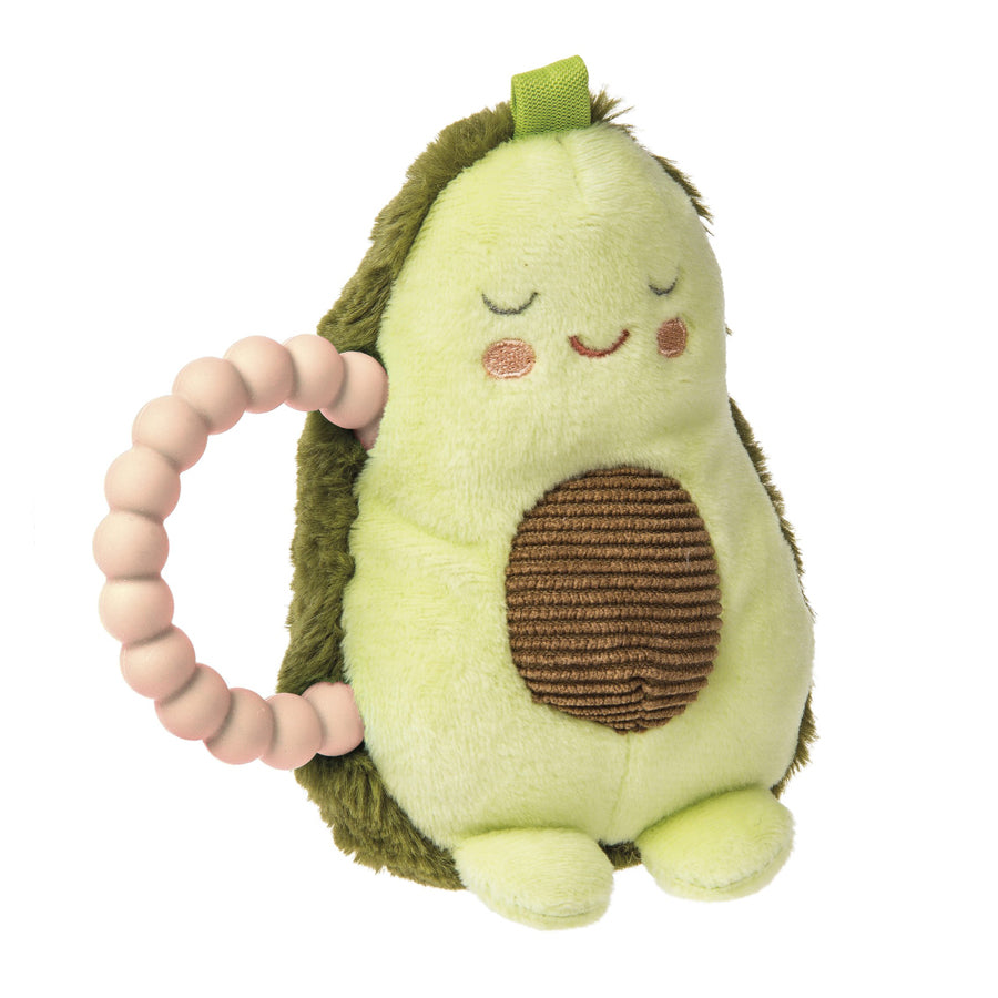 Yummy Avocado Teether Rattle-Mary Meyer-Joanna's Cuties