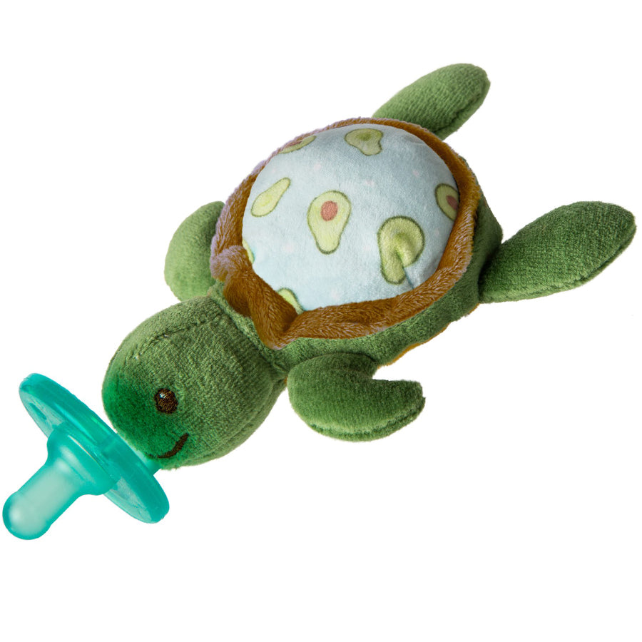 Yummy Avocado Turtle WubbaNub Pacifier-Mary Meyer-Joanna's Cuties