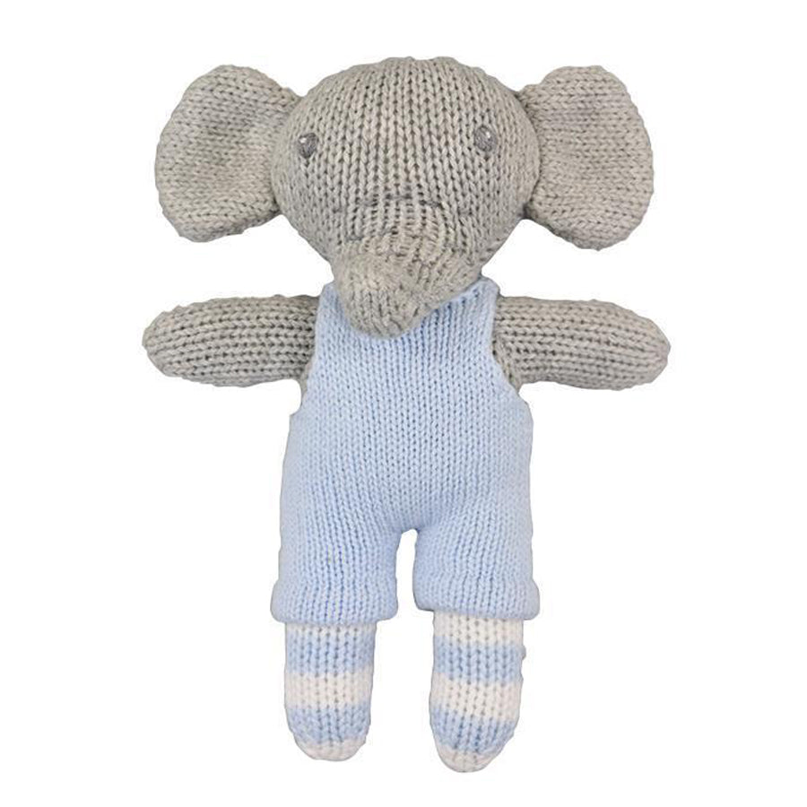 Bertie the Elephant - Rattle, Zubels - Joanna's Cuties