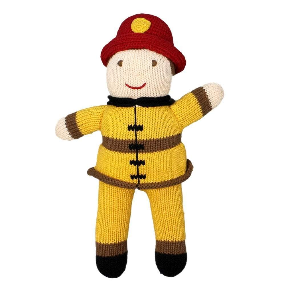 Frank The Fireman Knit, Zubels - Joanna's Cuties