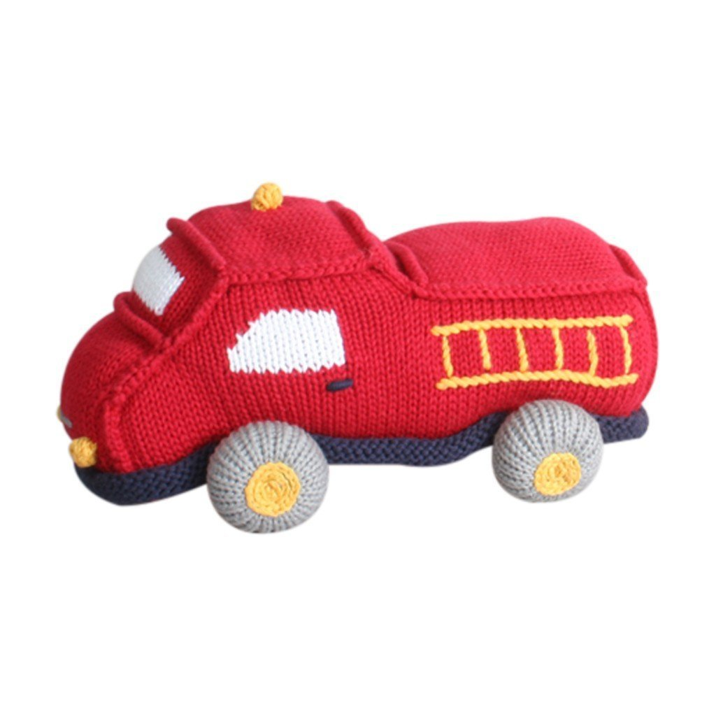 Chuck The Fire Truck knit, Zubels - Joanna's Cuties