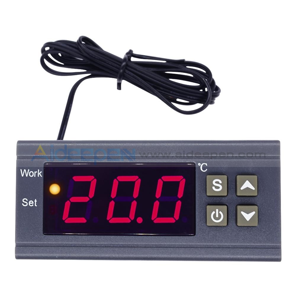 AC 90V-250V 10A Digital Temperature Controller Thermostat MH1210W