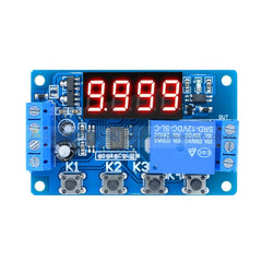 DC 12V Dual LED Multi-function Cycle Timer Relay Module Delay Time Switch