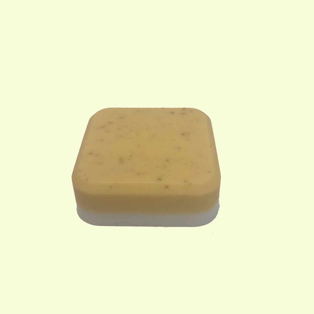 Handmade mini bar of soap made with Chamomile & Bergamot essential oil