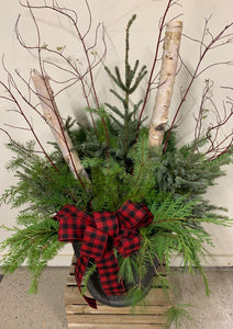 Holiday Planter Pots