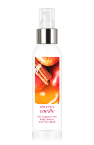 Apple Peel Candle Fine Fragrance Perfume Mist by Body Exotics 3.5 Fl Oz 103 Ml