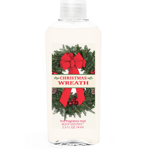 Christmas Wreath Fine Fragrance Mist 2.5 Fl Oz 74 Ml