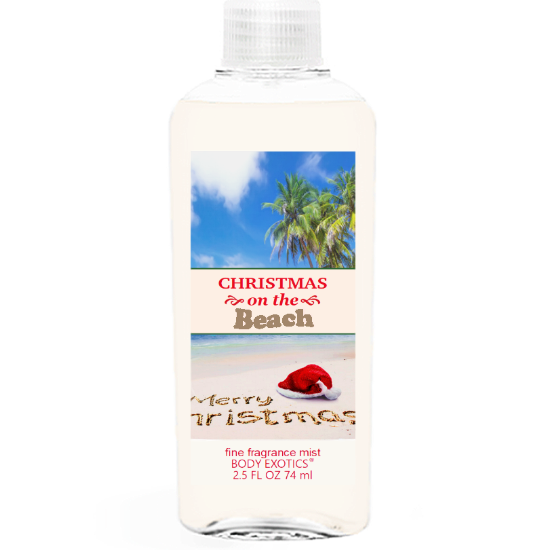 Christmas on the Beach Fine Fragrance Mist 2.5 Fl Oz 74 Ml