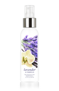 Lavender & Vanilla Fine Fragrance Perfume Mist by Body Exotics 3.5 Fl Oz 103 Ml