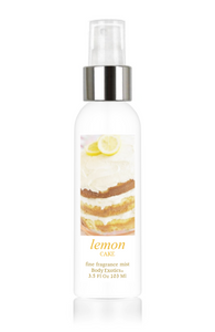 Lemon Cake Fine Fragrance Mist by Body Exotics 3.5 Fl Oz 103 Ml