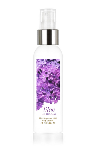 Lilac in Bloom Fine Fragrance Perfume Mist by Body Exotics 3.5 Fl Oz 103 Ml