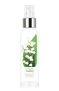 Lily of the Valley Fine Fragrance Perfume Mist by Body Exotics