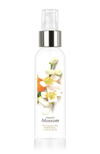 Orange Blossom Fine Fragrance Perfume Mist with Neroli by Body Exotics 3.5 Fl Oz 103 Ml
