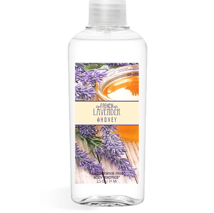 French Lavender & Honey Fine Fragrance Perfume Mist by Sim Scents 2.5 Fl Oz 74 Ml