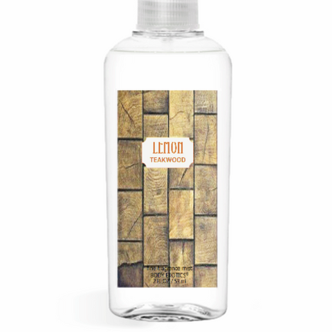 Lemon Teakwood EDP Perfume Fine Fragrance Body Mist 2.5 Oz 74 Ml