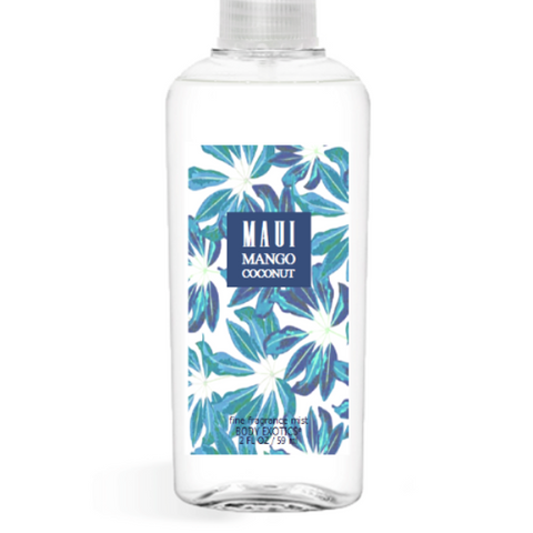 Maui Mango Coconut EDP Perfume Fine Fragrance Body Mist 2.5 Oz 74 Ml
