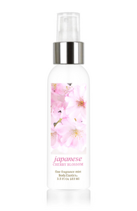 Japanese Cherry Blossom Fine Fragrance Perfume Mist by Body Exotics 3.5 Fl Oz 103 Ml