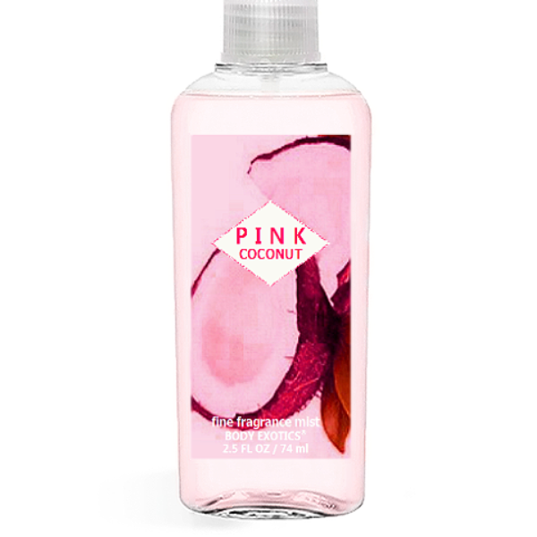Pink Coconut Fine Fragrance Perfume Mist by Sim Scents 2.5 Fl Oz 74 Ml