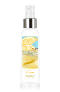 Sugar Lemon Fine Fragrance Perfume Mist by Body Exotics 3.5 Fl Oz 103 Ml