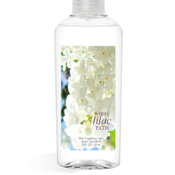 White Lilac Path Fine Fragrance Perfume Mist by Sim Scents 2.5 Fl Oz 74 Ml