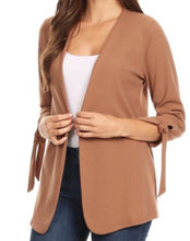 Load image into Gallery viewer, FLASH SALE: Tie the Knot Jacket (2 colors)