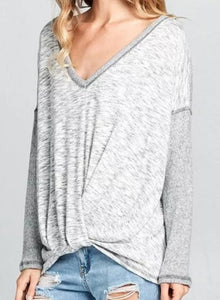 Let's Do the Twist Oversized Thermal