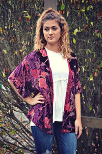 FLASH SALE: If You Can Read This, Bring Me Wine Kimono