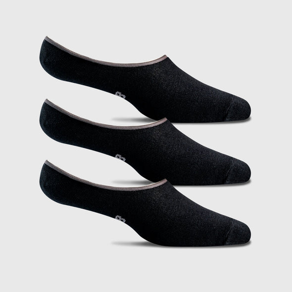 Men's No Show Loafer Socks - 3PK
