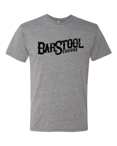 Barstool Sessions Tee - Grey