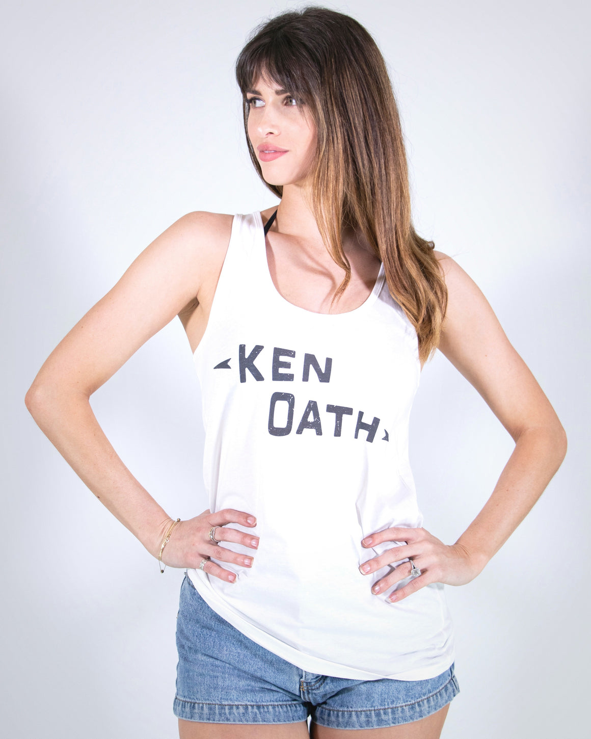 The Kenoath Classic Singlet  -  White