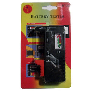 SE BT-168 Battery Tester  BATTTEST Test standard and rechargeable batteries: 9V, AA, AAA, C, D, 1.5V Button Type
