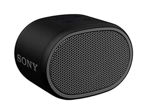 Sony XB01 Wireless Bluetooth Compact Portable Speaker and Speakerphone IPX5 Splash and Rain Resistant 3.5mm Audio Port, Black (SRSXB01)